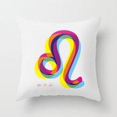 Leo ~ Zodiac Throw Pillow