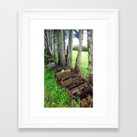 Framed Art Print featuring The New Generation by Amy Taylor