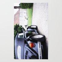 Vintage Volkswagon Beetl… Rug