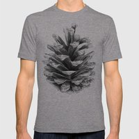 Pine Cone Mens Fitted Tee Tri-Grey SMALL