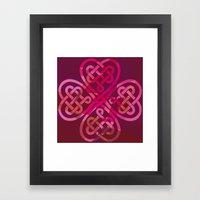 LOVEROCK 3 Framed Art Print
