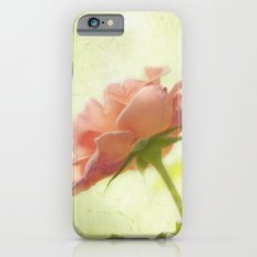 Vintage light pink rose Slim Case iPhone 6s