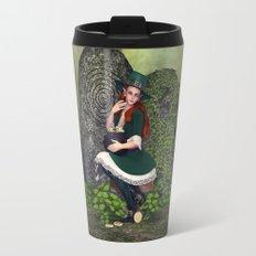 Leprechaun Lass Travel Mug