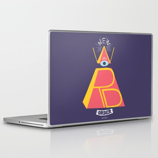 New Word Order! Laptop & iPad Skin