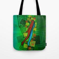 Raimbow Lady Tote Bag
