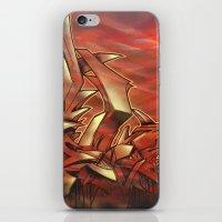 Deep of Red iPhone & iPod Skin