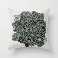 Mandalas Throw Pillow