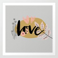 Love For Valentine's Day Art Print