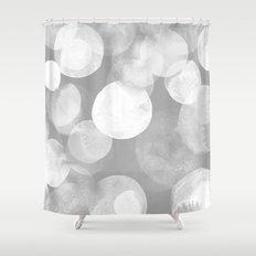 Confetti paint FOUR Shower Curtain