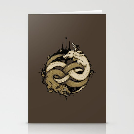 NEVERENDING FIGHT Stationery Card