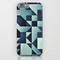 :: Geometric Maze V :: iPhone 6 Slim Case