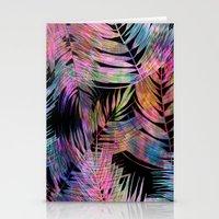 Waikiki Tropic {Black} Stationery Cards