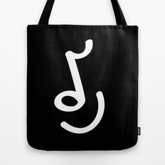 When You Closing Your Eyes... Listen to the Music Tote Bag