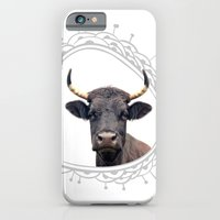 Yellow Horns iPhone 6 Slim Case