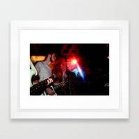 Shake Rattle 'n' Roll Framed Art Print