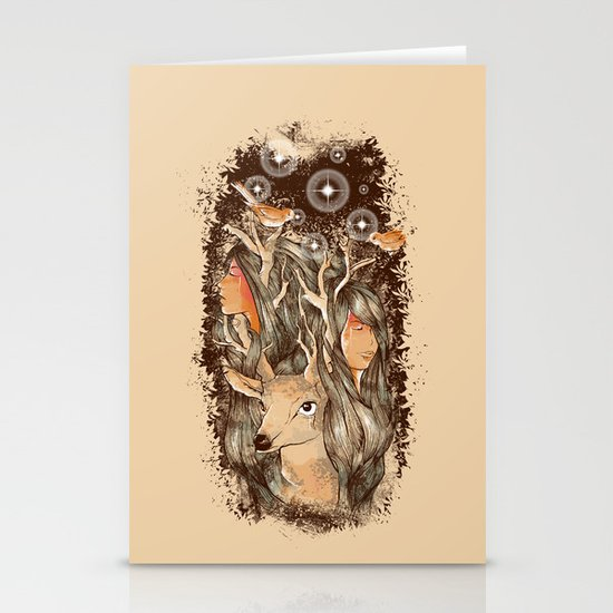 Tears of the Keeper Stationery Card