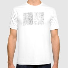 SURVIVE Mens Fitted Tee SMALL White