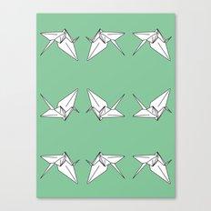Paper Crane Motif, 2013. Canvas Print