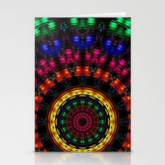 Rippling Colors Stationery Card