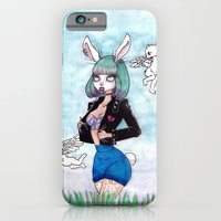 iPhone & iPod Case featuring b a d by K-NIZZY