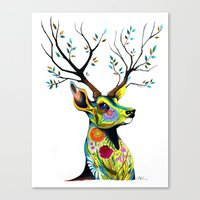 -King Of Forest- Canvas Print