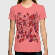 The Great Battle Of 1211 Womens Fitted Tee Pomegranate SMALL