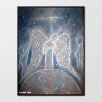 The Celestials Canvas Print