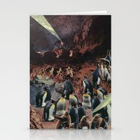 PENGUINS WITH POWERS Stationery Cards