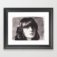 Zooey Framed Art Print
