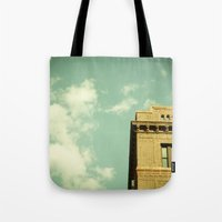 Green Skies Tote Bag