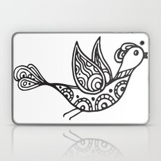 Hand Drawn Bird Laptop & iPad Skin