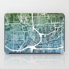 Atlanta Georgia City Map iPad Case