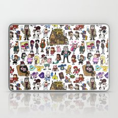 Cute Gravity Falls Doodl… Laptop & iPad Skin