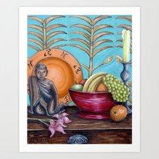 Tongan Table Art Print
