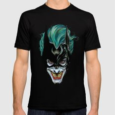 Joker - Darkest Knight  Mens Fitted Tee Black SMALL