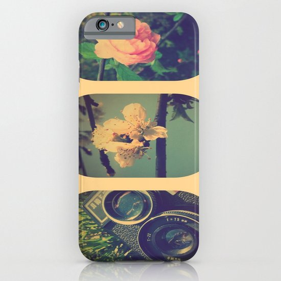 Spring collage iPhone & iPod Case