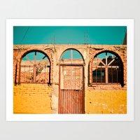 Zacatecas Mexico Art Print