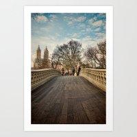 Central Park Crossing Art Print