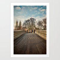 Central Park Crossing Art Print