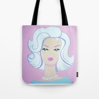Frosty Barbie Tote Bag