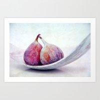 Purple Fruits III Art Print
