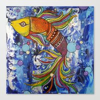 Colorful Fish 1 Canvas Print