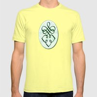 Nicole (#TheAccessoriesSeries) Mens Fitted Tee Lemon SMALL