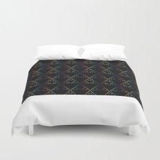 Sierpinski Triangles Duvet Cover