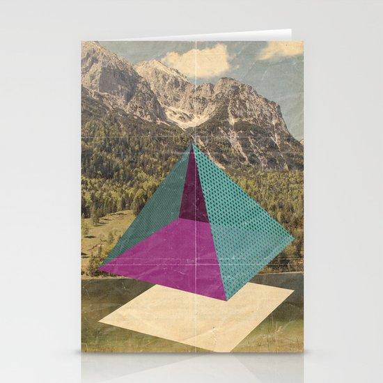 piramidi&nuvole Stationery Card
