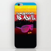Sunglasses and Advil iPhone & iPod Skin