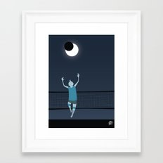 Moon Riser Framed Art Print