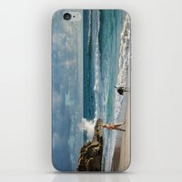 A Boy and His Dog iPhone & iPod Skin