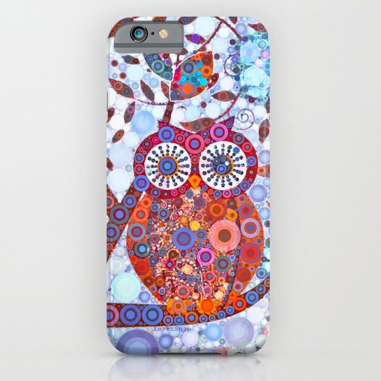 If Klimt Painted An Owl :) Owls are darling birds! iPhone & iPod Case