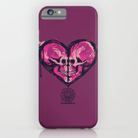 iPhone & iPod Case featuring Love Skulls Redux by Aotearoa666